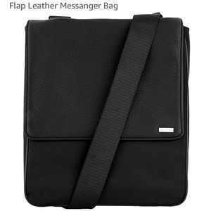 New flap Calvin Klein messenger bag black